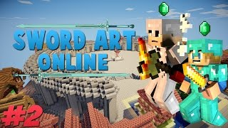Premiers Donjons ! : Sword Art Online - Serveur Minecraft SAO / MMORPG [#2]