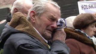 Sobreviventes voltam a Auschwitz 70 anos depois