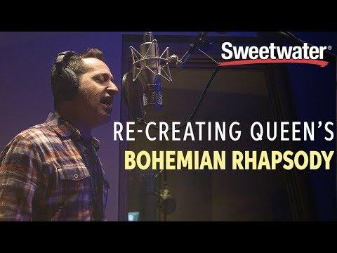 Re-creating Queen's Bohemian Rhapsody