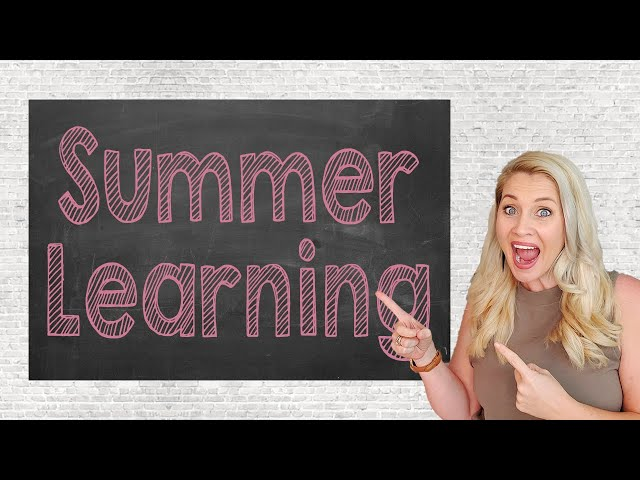SUMMER PLANS FOR LEARNING | Giveaway | Learning Apps for Summer Fun | Summer Learning Homeschool