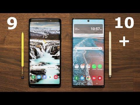 Galaxy Note 10 Plus vs Galaxy Note 9 - Full Comparison