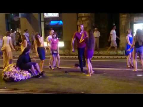 Street party Bratislava