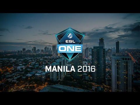 WG.Unity vs NG ESL One Manila 2016 SEA Qualifier Final Game 1 bo5
