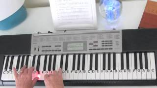 How to Play ~ In The Air Tonight ~ Phil Collins ~ LetterNotePlayer ©