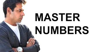 Numerology Master Number 11, 22, 33, 44  Astrology Secrets of the deep