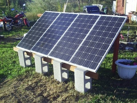 Ground Mount Solar 400 Watt System