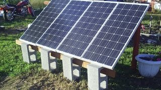 Ground Mount Solar 400 Watt System