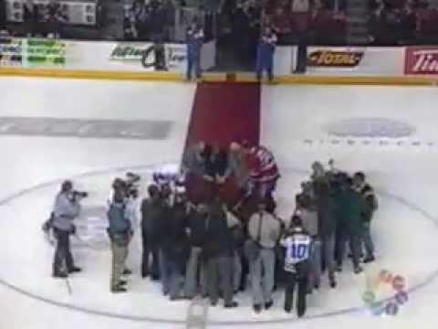 Match anciens Canadiens de Montréal 10 mars 1996