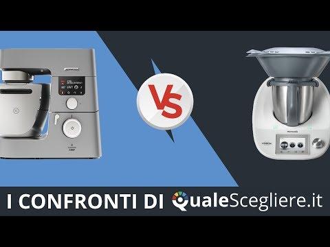 Confronto Kenwood Cooking Chef KCC9060S vs Vorwerk Bimby TM5 | QualeScegliere.it