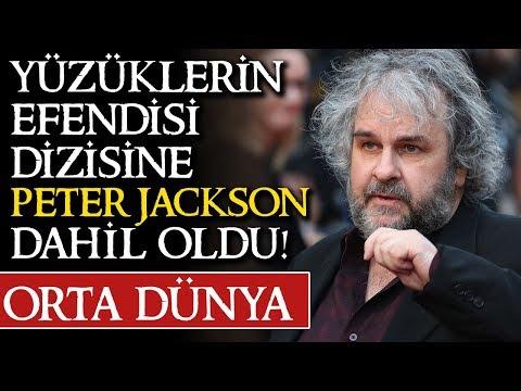 YÜZÜKLERİN EFENDİSİ DİZİSİNE PETER JACKSON DANIŞMAN!