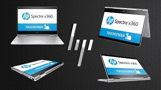 видео Инновационный ноутбук-трансформер HP Spectre x360