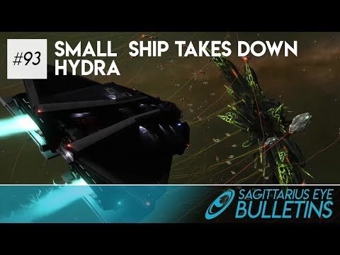 Sagittarius Eye Bulletin - Small Ship Takes Down Hydra