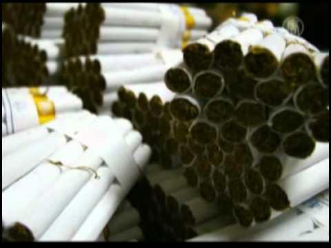 Thuốc lá Trung Quốc chứa các kim loại nặng