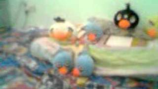 Dancing Angry Birds Plush Toy: Angry Birds Rap