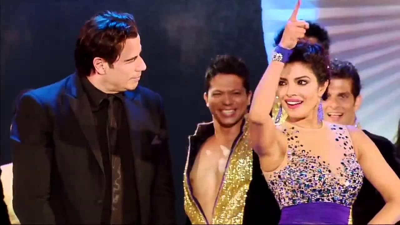 Download Watch Priyanka Chopra's mind blowing performance with John Travolta at IIFA Awards 2014 Part 2 HD