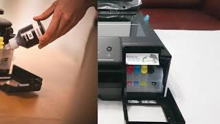 РАСПАКОВКА И ОБЗОР: Струйное МФУ Brother DCP-t500w unboxing and review inkjet MFP