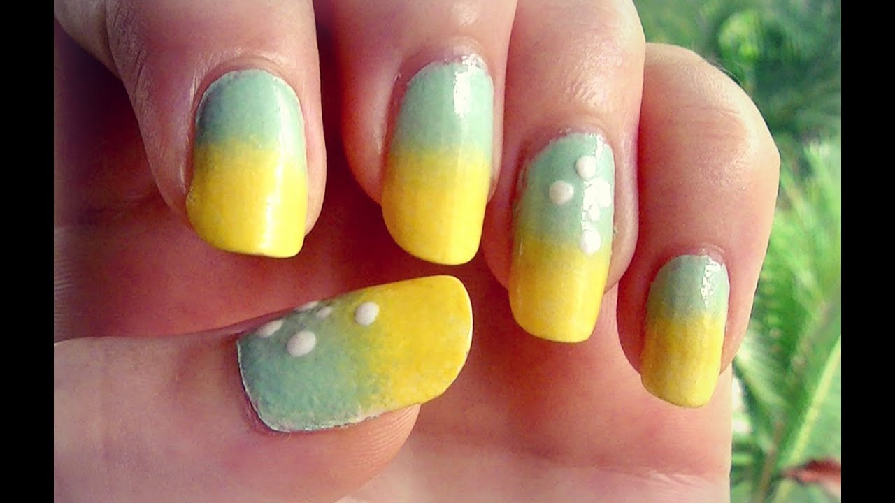 How to easy gradient ombre nails sponge gradient nail polish how to easy gradient ombre nails sponge gradient nail polish art tutorial youtube prinsesfo Gallery
