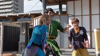 今回は、龍馬さんが縄跳び、武市先生があっちむいてホイで対決!! やっぱり外野がうるさいあっち向いてホイw 龍馬さんの3重跳びはいつ見てもすごいですね.