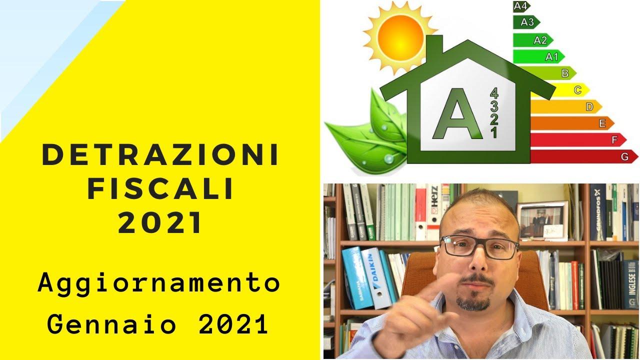 Download Novità Detrazioni Fiscali 2021
