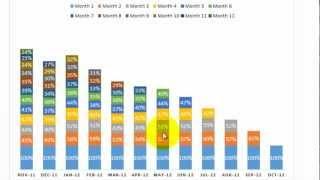 Excel: Cohort Analysis