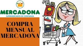 Compra mensual MERCADONA