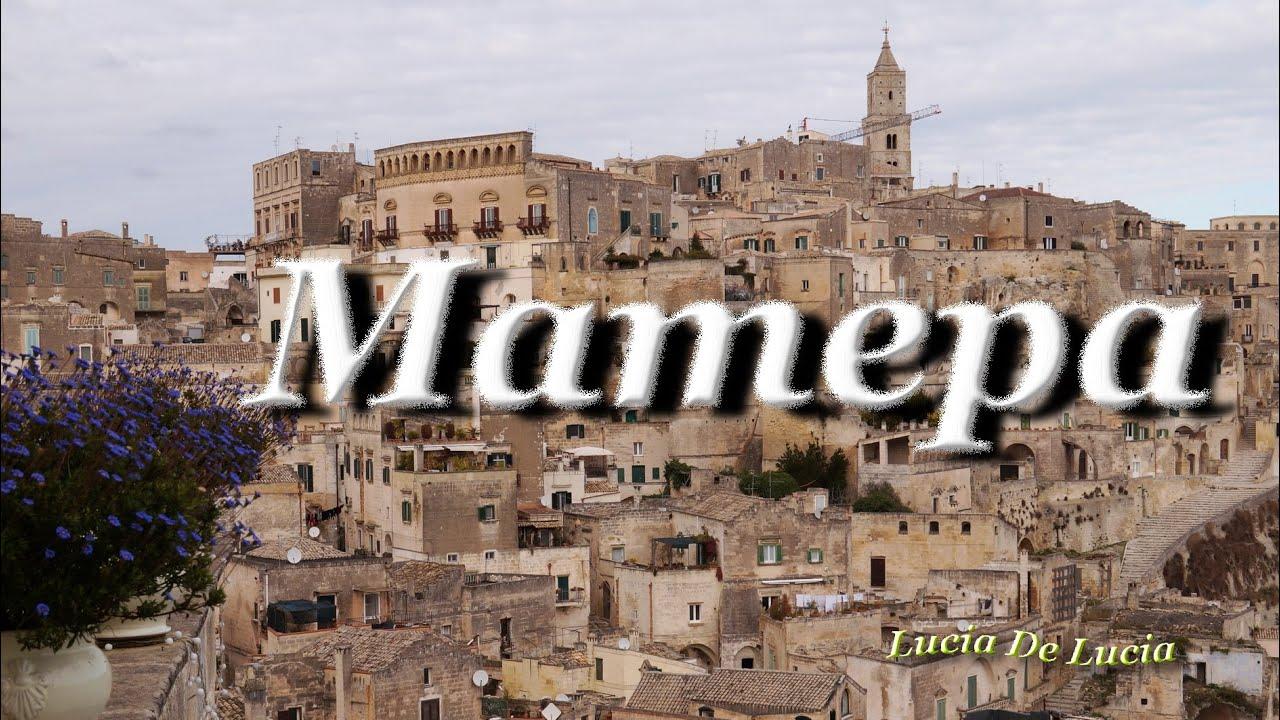 Matera Italiya Matera Youtube