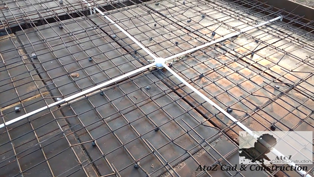 One Way Amp Two Way Slab Reinforcement Details On Site Youtube
