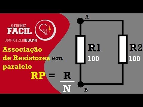 Associação de resistores em paralelo - Resistência elétrica - R/Nº