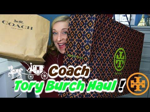 Tory Burch & Coach Haul