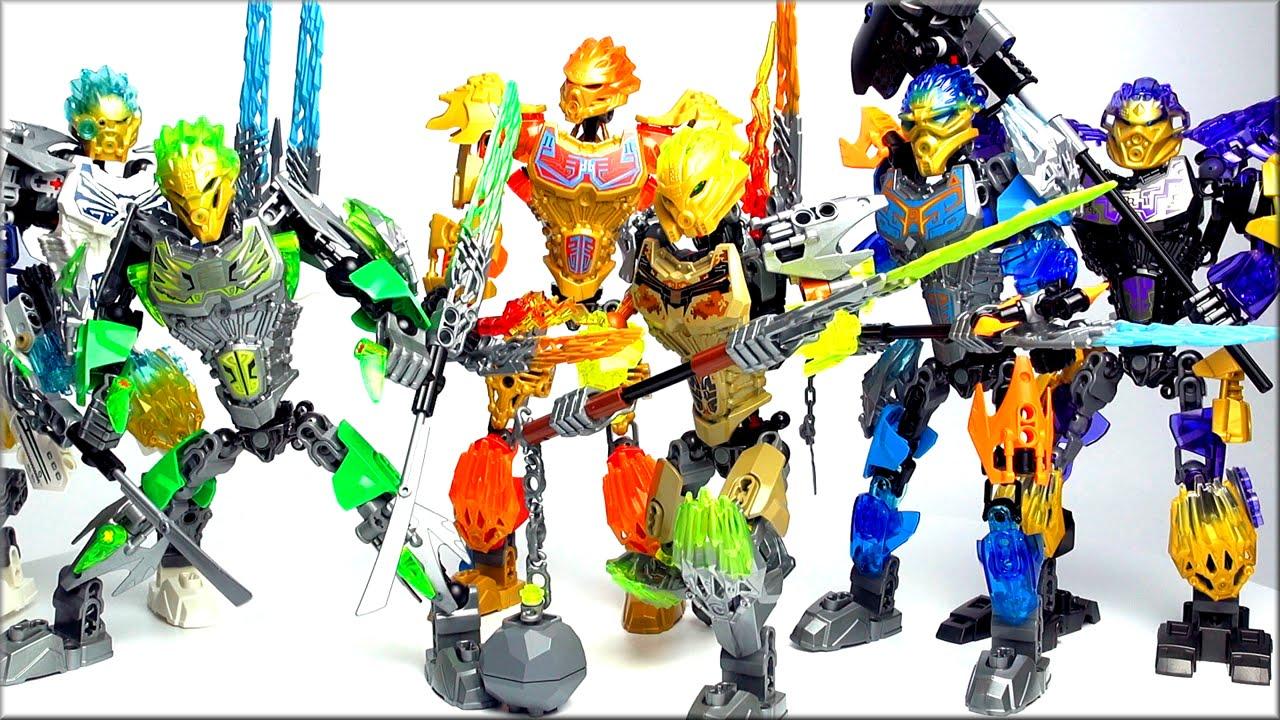 Lego Bionicle 2016 Обзор коллекции Все Лего Бионикл 2016
