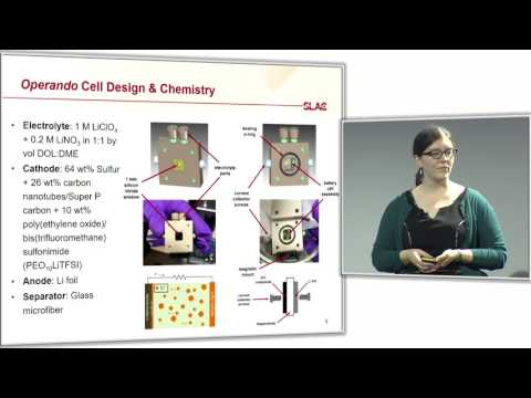 Elizabeth Miller  - Operando Spectromicroscopy of Lithium-Sulfur Batteries