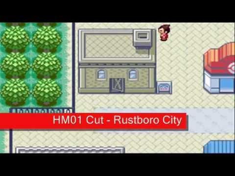Pokemon Emerald - All HM Locations