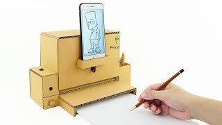 How to Make Pencil Sharpener Machine (Ver 2.0) from Cardboard