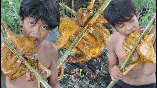 Primitive Technology - Awesome Cooking Duck - Eating Delicious
