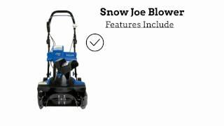 Sample Snow Joe Video