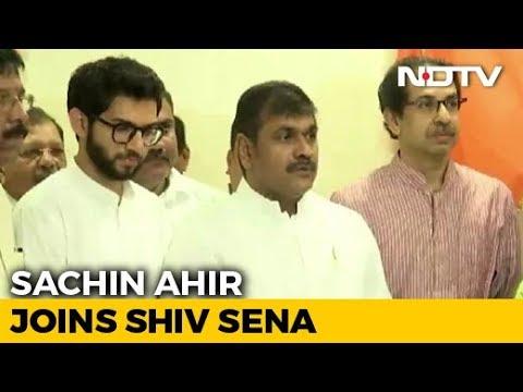 Senior NCP Leader Sachin Ahir Joins Shiv Sena Months Before Maharashtra Polls