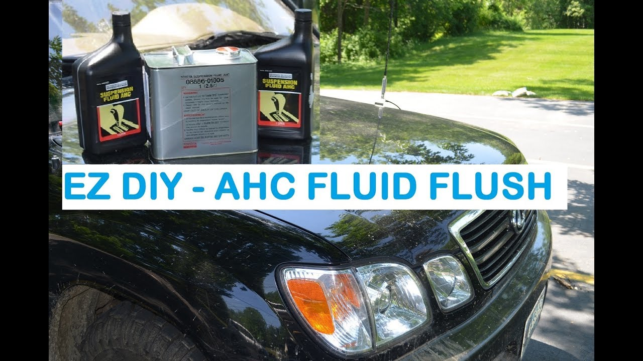 Brake Fluid Flush >> How-To AHC Suspension Fluid Flush Lexus Lx470 / Toyota ...