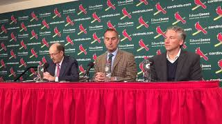 Video: Cardinals announce contract extensions