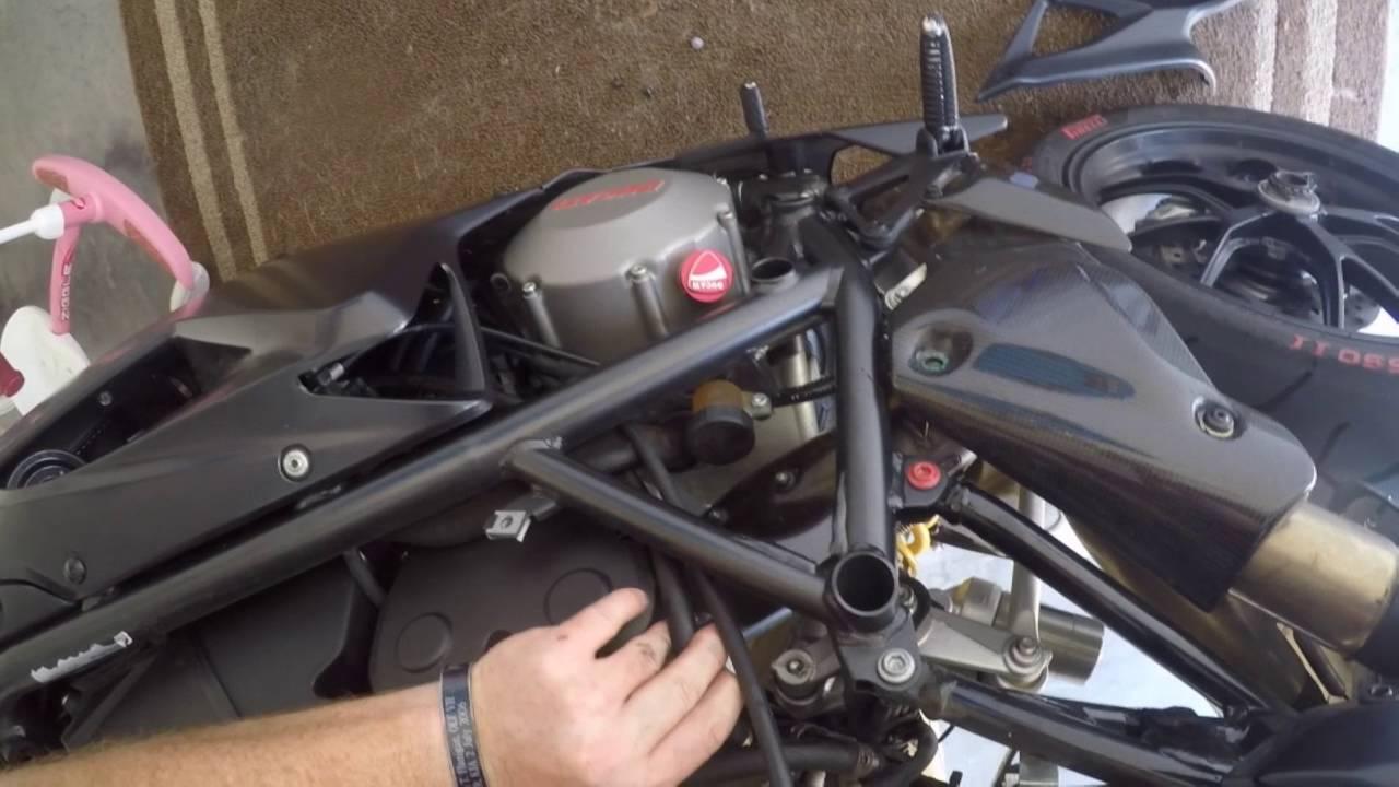 2010 Ducati 848 Spark Plug Change Youtube