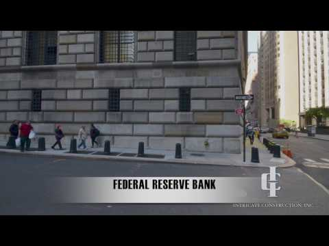 Federal Reserve Bank of New York - Intricate Construction