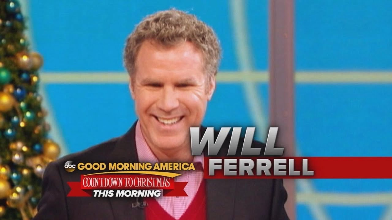 Its Will Ferrell Live On Gma This Morning Plus Gmas Ugly