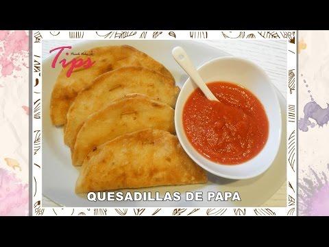 Frittelle di mais tipiche della cucina messicana - Quesadillas - VideoTips