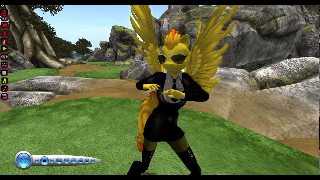 Anthro Spitfire Second Life - Flight Of The Wonderbolts -4749