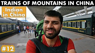 TRAINS IN MOUNTAINS OF CHINA - Avatar Mountains