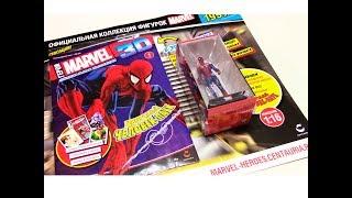 Коллекционные фигурки - Герои Marvel 3D. Обзор первого выпуска.