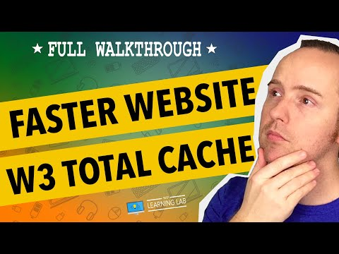 Use W3 Total Cache For Page Speed Improvements In WordPress - WP Learning Lab