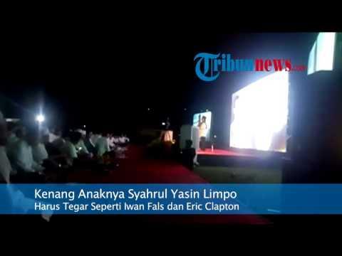 Syahrul Yasin Limpo: Tegar Seperti Iwan Fals dan Eric Clapton