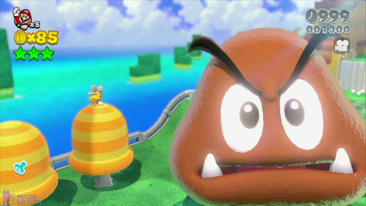 Super Mario 3D World: GIANT GOOMBA