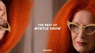the best of: myrtle snow (s3 & s8)