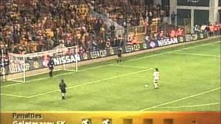 Arsenal Galatasaray UEFA finali penaltılar HQ